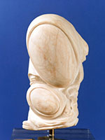 Mother and Child / 2000 / alabaster